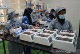 Menristek sebut kalangan pemilik pabrik mengantre beli alat deteksi cepat GeNose