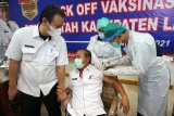 Sebanyak 70 ASN dan pejabat eselon II Lampung Selatan terima vaksinasi COVID-19 gelombang kedua