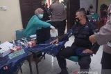 56 personel Brimob Kota Padang Panjang jalani vaksinasi COVID-19