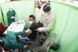 Vaksinasi COVID-19 pedagang pasar