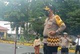 Polres Mimika bersama warga bangun 79 Pos Peka