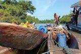 Warga Kawagit siapkan angkutan longboat bantu angkut material TMMD Boven Digoel