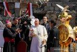 Paus Fransiskus dengarkan pengalaman warga Irak saat dibawah  ISIS