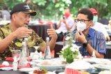 Gubernur Sulut mengapresiasi Menparekraf  tingkatkan infrastruktur pariwisata