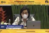 Menkeu Sri Mulyani imbau masyarakat segera lapor SPT Tahunan