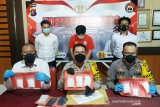 Ayah muda di Kotim ini ditangkap simpan 709 gram sabu-sabu