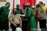 Berikut personel Polda Kalteng yang diprioritaskan dalam vaksinasi COVID-19