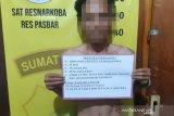 Dari laporan masyarakat, polisi tangkap pengedar ganja di Talamau
