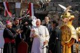 Paus Fransiskus: 10 tahun perang Suriah seharusnya dorong upaya perdamaian