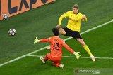 Liga Champions: Halland bawa Dortmund ke perempat final