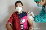 Wartawan di Palangka Raya ikuti vaksinasi COVID-19