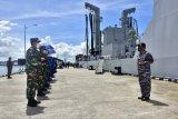 KRI Tarakan-905 melaksanakan operasi pengamanan laut di timur Indonesia