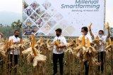 BNI dorong penguatan sektor pertanian dengan Milenial Smartfarming