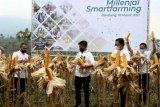 BNI dukung penguatan sektor pertanian dengan Milenial Smartfarming
