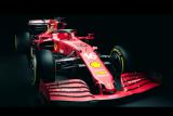 Ferrari resmi meluncurkan mobil F1 baru SF21