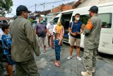 Sejumlah wisatawan di Yogyakarta tidak dapat menunjukkan hasil tes antigen