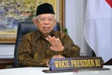 Wapres Ma'ruf Amin ke Lampung tinjau vaksinasi dan Way Sekampung