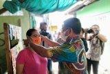 Gubernur berikan bantuan korban kebakaran di Tarakan serta bagi masker