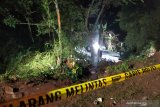 Korlantas Polri menjelaskan kronologis kecelakaan maut bus di Sumedang