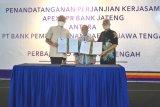Bank Jateng dan Perbarindo Jateng tandatangani PKS Apex BPR