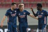 Gol perdana Odegaard antar Arsenal bungkam Olympiakos 3-1
