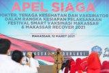 Pemerintah Kota Makassar waspadai penularan COVID-19 varian baru B117