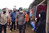 Bupati Lampung Tengah hadiri peresmian pasar kampung Kutowinangun