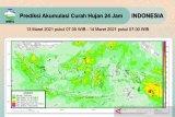 BMKG prakirakan potensi hujan lebat di sejumlah daerah di Indonesia
