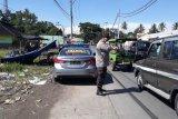 Polsek Batukliang genjot penerapan prokes di pasar