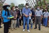 Bupati dan Wabup Lampung Tengah resmikan pasar kuliner