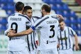 Ronaldo hattrick, Juventus bungkam Cagliari 3-1