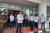 Menkopolhukam Mahfud MD koordinasikan penyelesaian kasus korupsi di Kejagung