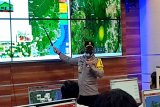 Kapolda Kalteng pantau hotspot melalui 'command center'