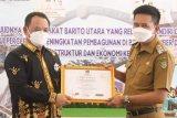 Pemkab Barut terima kunjungan Ketua KPU se-Kalteng