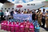 Warga perbatasan Malaysia menyambut gembira distribusi elpiji 12 kilogram