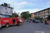 Dinas Damkar Palembang  tingkatkan pemeriksaan apar gedung bertingkat