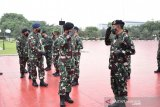Panglima TNI menerima laporan kenaikan pangkat 57 Perwira Tinggi