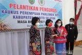 Andina Narang: Pengurus KPP tiga kabupaten di Kalteng telah dilantik