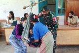 Satgas pamtas RI-RDTL  gelar posyandu di Timor Tengah Utara