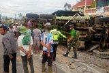 Ini penjelasan Polres Solok Arosuka soal kecelakaan truk di Nagari Koto Gadang Guguak