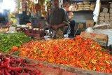 Cabai rawit lebih mahal dari daging sapi di pasar tradisional