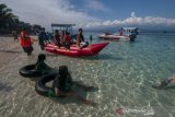 Wisata bahari  masih menjadi destinasi unggulan Kabupaten Donggala