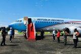 Plt Gubernur dampingi Presiden Jokowi resmikan infrastruktur di Sulawesi Selatan