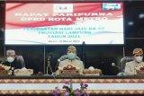 Wali Kota Metro berharap pembangunan di Lampung berkesinambungan