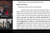 Mahkamah Konstitusi tolak gugatan Jarot-Mokhlis