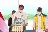 Presiden Joko Widodo resmikan Kolam Regulasi Nipa-Nipa di Sulsel
