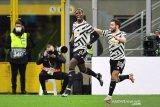 Pogba bawa MU lewati Milan menuju perempat final Liga Europa