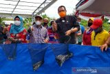 Dirjen Perikanan Budidaya dorong optimalisasi pengembangan sistem bioflok di Kalteng