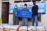 BI dan ACT Purwokerto salurkan bantuan paket pangan untuk 15 pesantren