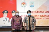 Teten dan Zainal berkomitmen kembangkan koperasi dan UMKM di Kaltara